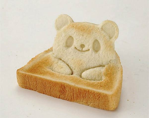 Teddy Bear Toast Stamp