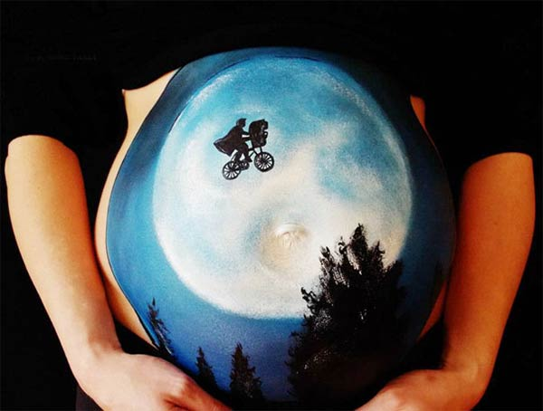 Bump Paintings by Carrie Preston