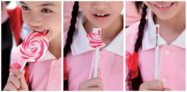Colgate Reminds Kids to Brush Their Teeth