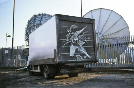 Drawings on Dirty Trucks by Ben Long