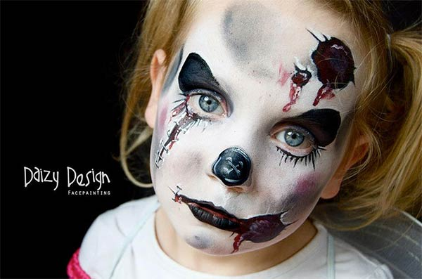 Amazing Kids Face-Painting From Daizy Design