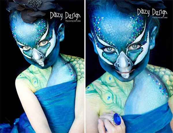 Daizy Design Takes Face Painting To The Next Level