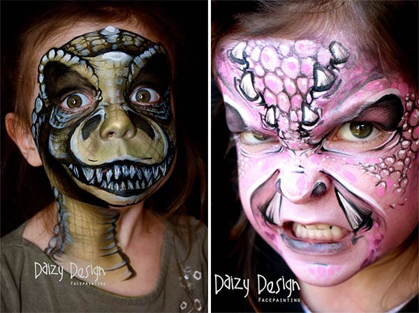Remarkable Face Painting From New Zealand's Daizy Design