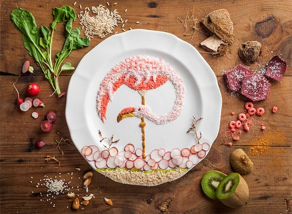 Fascinating Food Illustrations By Anna Keville Joyce