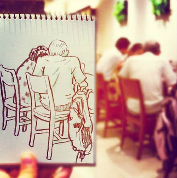Fun Sketches by Hama House