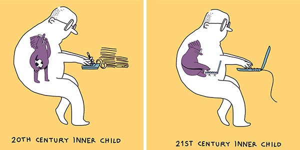 Humor Illustrations by Eduardo Salles