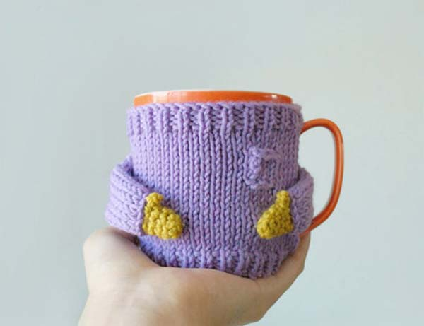 Little Knit Sweaters For Your Coffee Mug