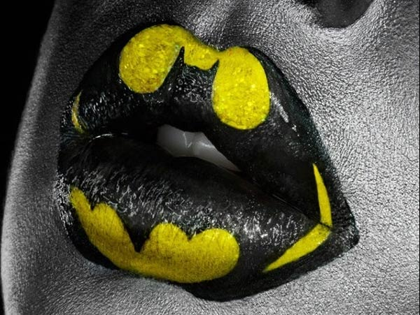 Superhero Lips Makeup