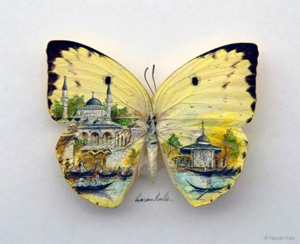Tiny Paintings of Istanbul by Hasan Kale