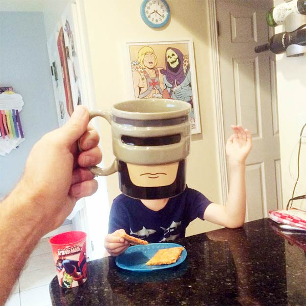 Breakfast Mugshot Series by Lance Curran