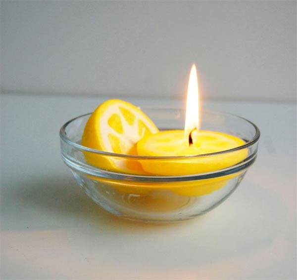 Realistic Fruit Candles
