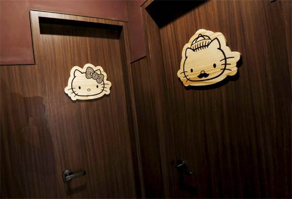 Hello Kitty-Themed Restaurant in Hong Kong