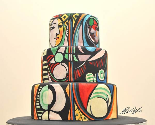 Famous Paintings Recreated on Cakes by Maria A. Aristidou