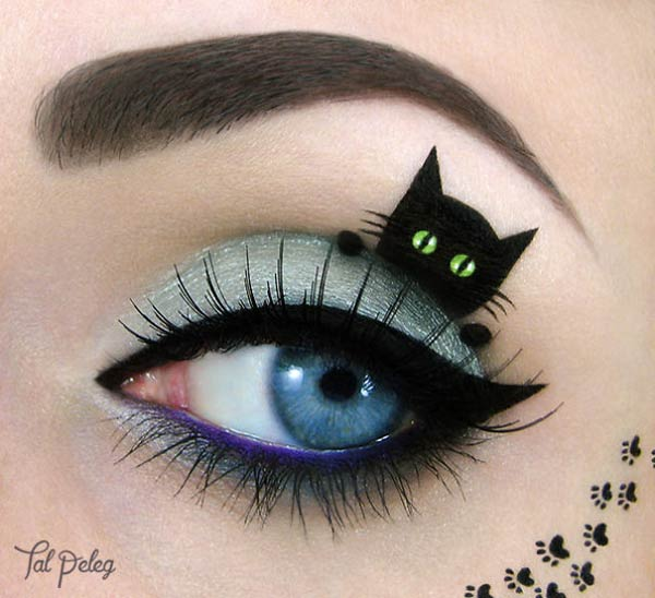 Eye Makeup Art by Israeli Artist Tal Peleg