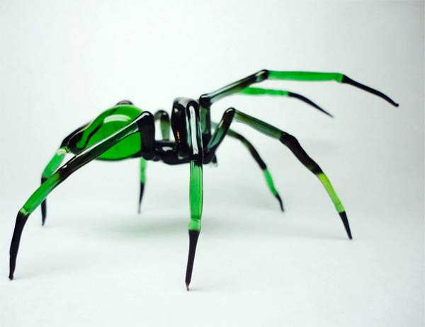 Handmade Glass Animal Sculptures