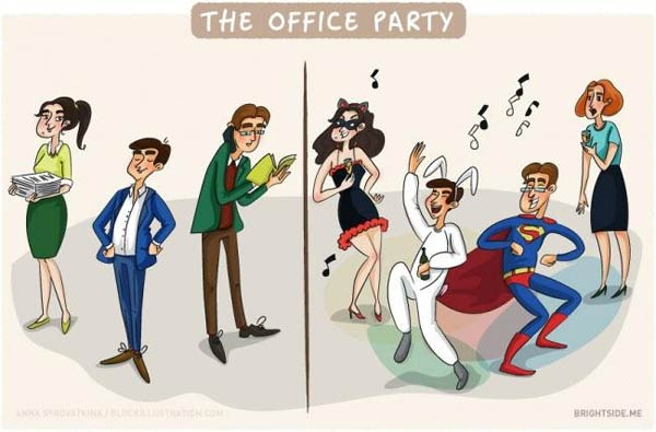 Office Life Illustrations