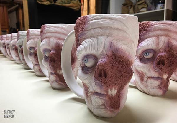 Zombie Coffee Mugs By Turkey Merck