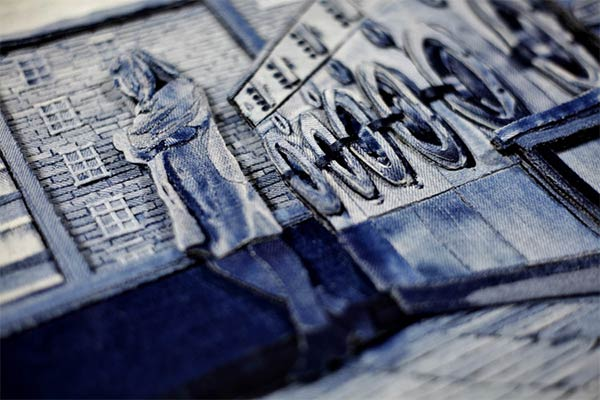 Art in Denim by Ian Berry