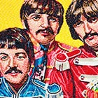 'The Beatles' Portrait Made Out of Jelly Beans