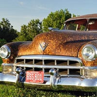 Classic Cadillac Covered In More Than 38,000 Cents