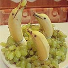 Banana Dolphins in the Sea of Grapes
