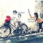 Interactive Street Art in Malaysia