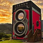 Camera-Shaped Coffee House