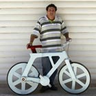 Bicycle Made out of Cardboard