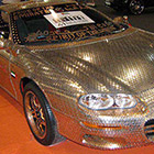 Chevrolet Car Decorated with 33,000 UAE Coins