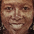 Giant Portrait Created with 9,217 Wine Corks