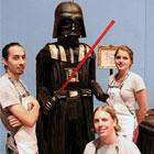 Life-Size Darth Vader Cake