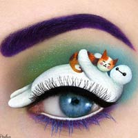 Creative Eye Makeup Art By Israeli Artist Tal Peleg