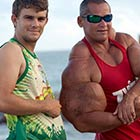 Brazilian Bodybuilder Grows 29 inch Fake Biceps