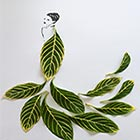 Fashion in Leaves: Creative Leaf Art