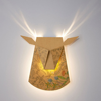 Folded Aluminum Lamps