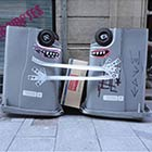 London Garbage Transformed Into Little Monster