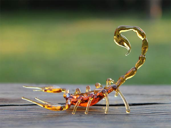 Delicate Handmade Glass Animal Sculptures