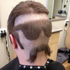 "Incredible ""Glasses & Mustache"" Haircut"
