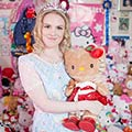Hello-Kitty Obsession: Natasha Goldsworth Spent Over £50,000 Collecting Hello-Kitty Items