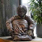 Life-size Sculptures of Homeless People