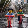 Adventurous LEGO Couple
