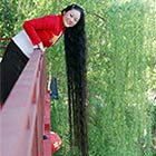 Real Life Rapunzel: The Woman with 8-Foot Long Hairs