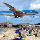 Maho Beach: Planes Landing Above Your Head