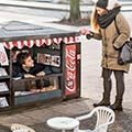 Coca-Cola Builds Adorable Mini Kiosks to Sell Mini Cokes