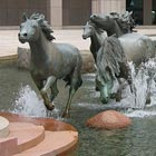 Running Horses Fountain at Las Colinas