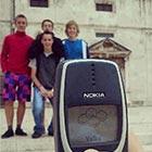 Family Photo Captured with Nokia 3310