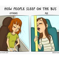 Normal People Vs Me: 9 Amusingly Truthful Comic Strips