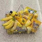 Per Color Baskets at Supermarket