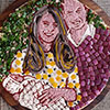 "The Second ""Royal Baby"" Pizza Portrait"