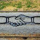 Train Tracks Graffiti Art by Portuguese Artist Artur Bordalo